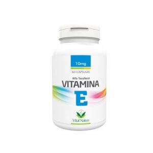 Vitamina E - Alfa Tocoferol 10mg - 60 Cápsulas (Vital Natus)