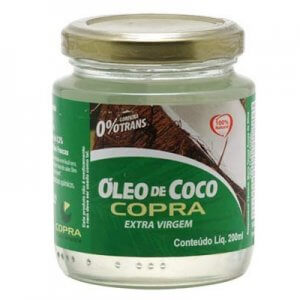 Óleo de Coco Extra Virgem 200ml (Copra)