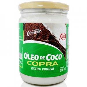 Óleo de Coco Extra Virgem - 500ml (Copra)