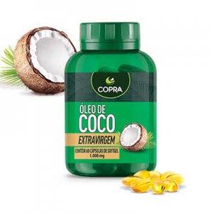 Óleo De Coco Extra Virgem - 60 Softgels (Copra)