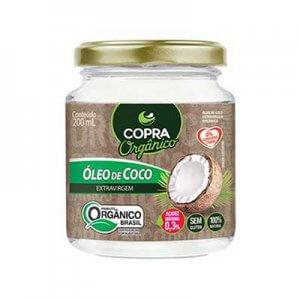 Óleo De Coco Extra Virgem Orgânico 200ml (Copra)