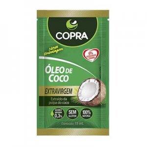 Óleo De Coco Extra Virgem - Sachê 15ml (Copra)