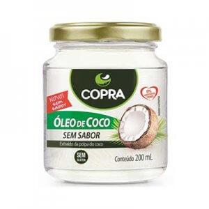 Óleo De Coco Sem Sabor 200ml (Copra)