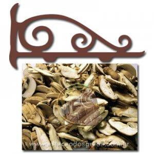 Cogumelo Shitake Fatiado (Fracionado - Embalagem 100g)