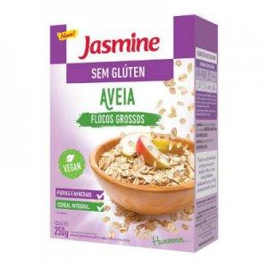 Aveia Flocos Grosso - Sem Glúten 200g (Jasmine)