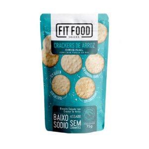 Crackers de Arroz - Original 75g (Fit Food)