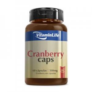 Cranberry Caps 500mg -  60 Cápsulas (VitaminLife)