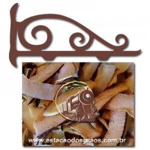 Coco Queimado Laminado Chips (Granel - Preço/100g)