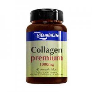 Collagen Premium (Colágeno 1000mg) - 60 Cápsulas (VitaminLife)