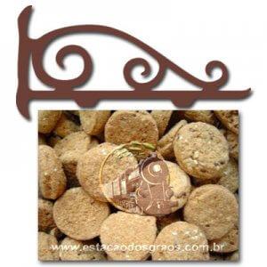 Cookies Gergelim e Linhaça (Granel - Preço/100g)