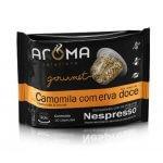 Cápsulas de Chá de Camomila Com Erva-Doce - 10 unidades - Compatíveis com Nespresso (Aroma Selezione)