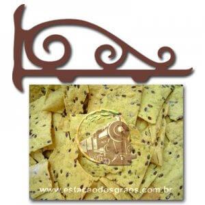 Biscoito Azeite e Linhaça (Granel - Preço/100g)