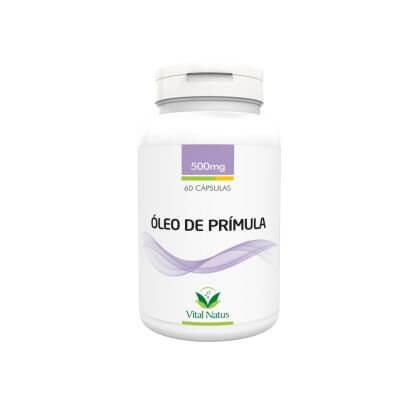 Óleo de Prímula 500mg - 60 Cápsulas (Vital Natus)