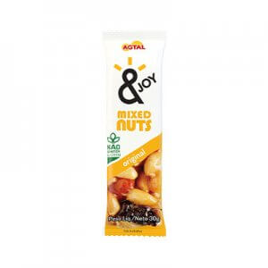 Barra de Mixed Nuts Original 30g (&Joy - Agtal)