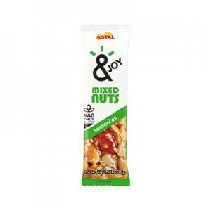 Barra de Mixed Nuts Sementes 30g (&Joy - Agtal)