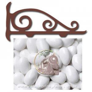 Amêndoa Confeitada Branca (Granel - Preço/100g)