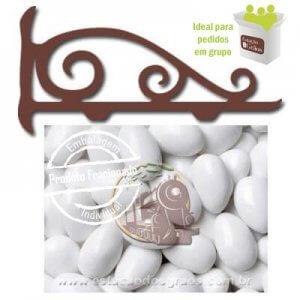 Amêndoa Confeitada Branca (Fracionado - Embalagem 200g)