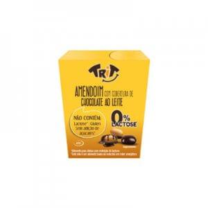 Amendoim com cobertura de chocolate ao leite 0% Lactose 40g (Trit)