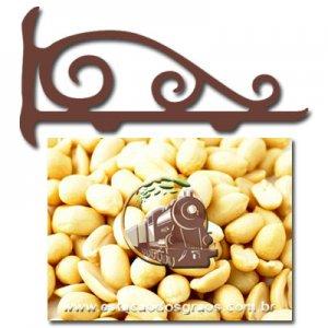 Amendoim  Graúdo Cru Sem Pele (Granel - Preço/100g)