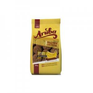 Biscoito Doce sem Glúten - Sabor Banana com Canela - 100g (Aruba)