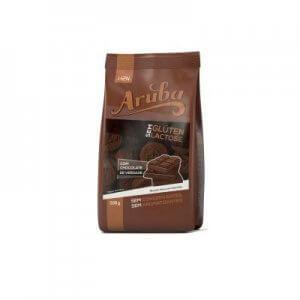 Biscoito Doce sem Glúten - Sabor Chocolate - 100g (Aruba)