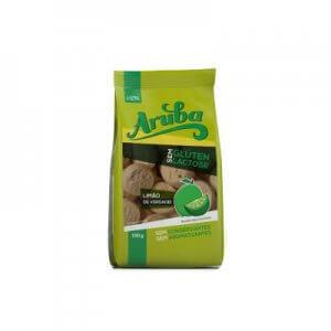 Biscoito Doce sem Glúten - Sabor Limão - 100g (Aruba)