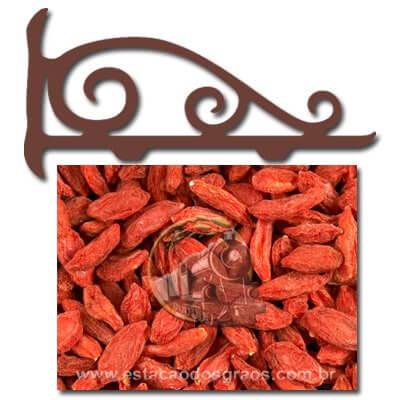 Goji Berry Seca Desidratada (Granel - Preço/100g)