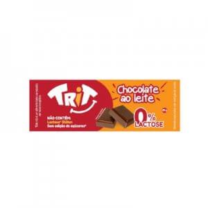 Chocolate ao leite 0% Lactose 25g (Trit)